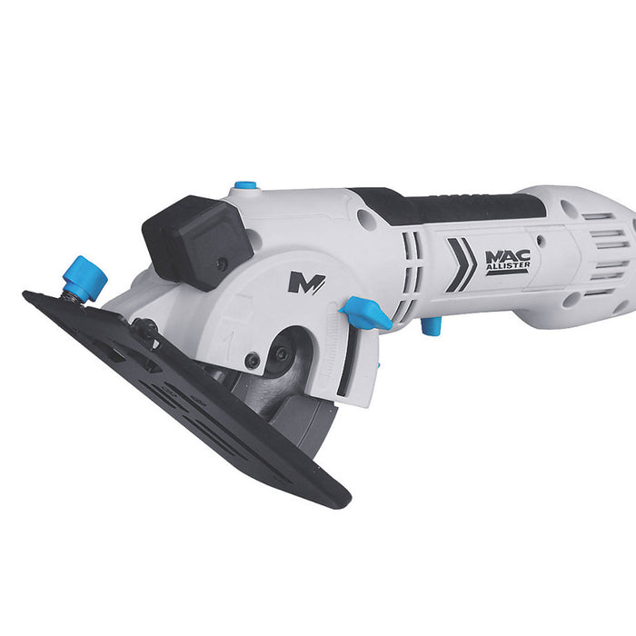 Mac Allister Electric Mini Saw MSMCS500 500W 76mm 220-240V With Blades and Case - Image 2