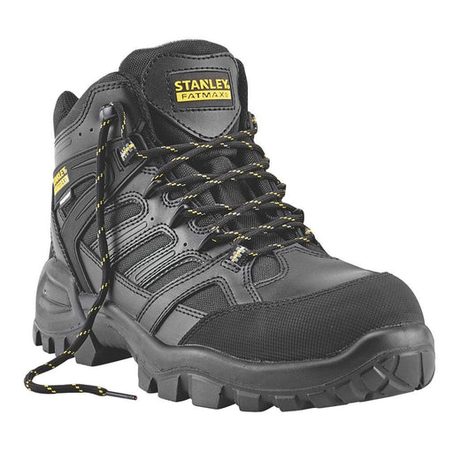 Stanley FatMax Ontario Waterproof Safety Boots Black Size 10 - Image 1