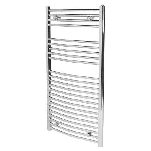 Flomasta  Curved Towel Rail  1100 x 600mm - Image 1