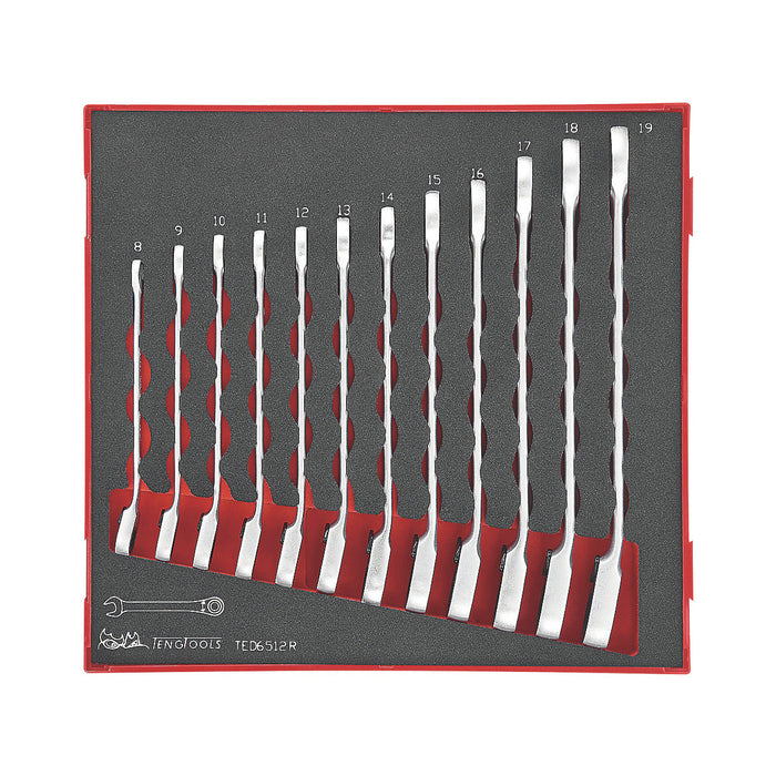 Teng 12 piece EVA Ratchet Spanner Set - Image 1