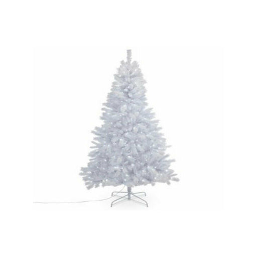 Igora White Artificial Christmas Tree Integrated Led 7Ft 213cm - Image 1