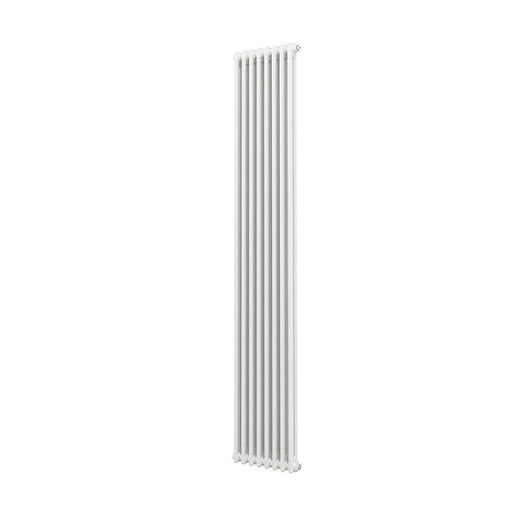 Acova  2-Column Vertical Radiator  2000 x 398mm - Image 1