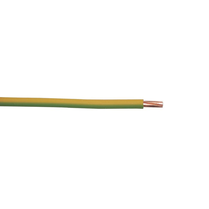 Conduit Wiring Cable 6491X 1-Core 2.5mm² x 100m Green/Yellow - Image 2