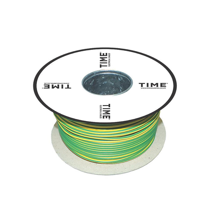 Conduit Wiring Cable 6491X 1-Core 2.5mm² x 100m Green/Yellow - Image 3