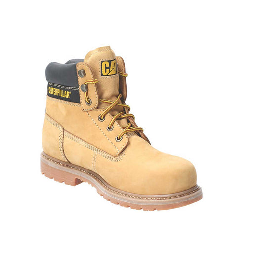 CAT Achiever   Safety Boots Honey Size 10 - Image 1