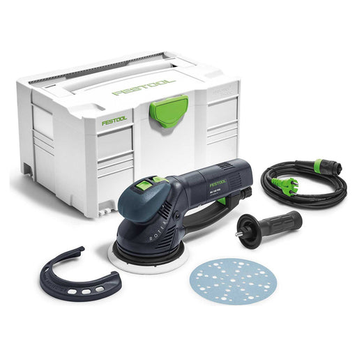 Festool Corded Electric Eccentric Orbit Disc Sander RO 150 FEQ-Plus 240V 720W - Image 1