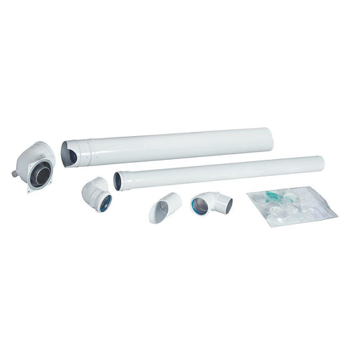 Baxi Plume Displacement Kit inc. Elbow & Clips - Image 1