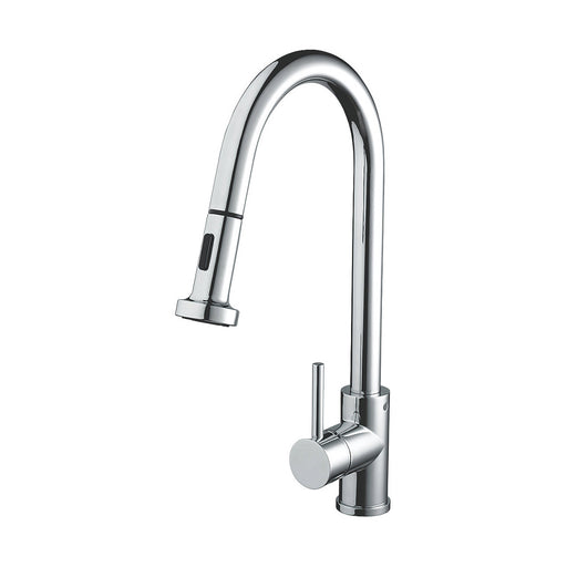 Apricot Sink Mixer with Pull Out Spray Chrome - Image 1