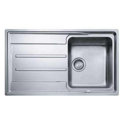 Franke Aton 1 Bowl & Sink Drainer Polished Stainless Steel - Image 1