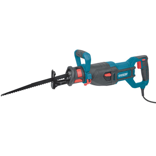 Erbauer ERS1100 Electric 1100W Reciprocating Saw 110V with Blades - Image 1