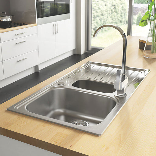 Astracast Alto 1.5 bowl sink AO15XXSFIXS 980 X 510mm - Image 1