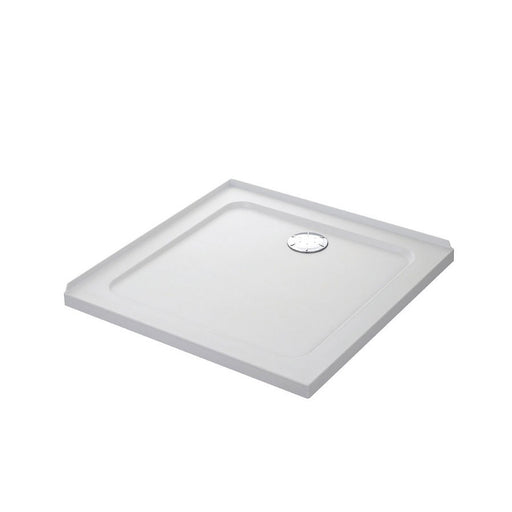 Mira Flight Safe Square Shower Tray With Upstands White 900 X 900 X 40Mm (4937X) - Image 1