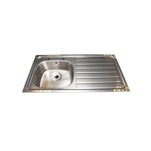 Single bowl single drainer inset sink Right - Image 1
