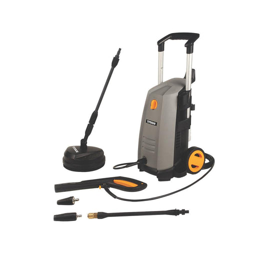 Titan Pressure Washer TTB669PRW 130BAR Electric 1.8kW 240V 360 Ltr/hr - Image 1