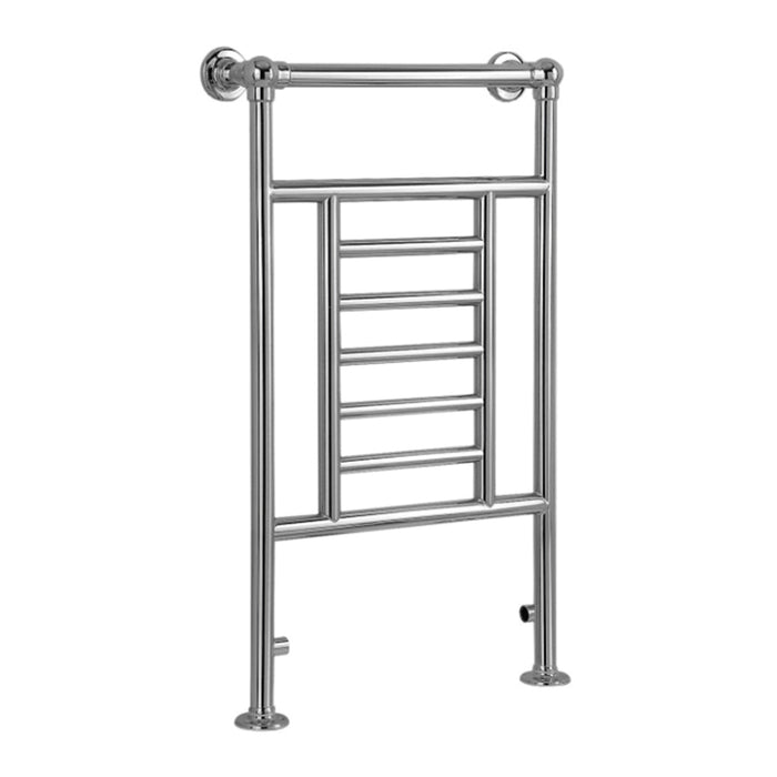 Blyss Traditional Bathroom Towel Warmer Radiator Chrome 914 x 534mm - Image 2