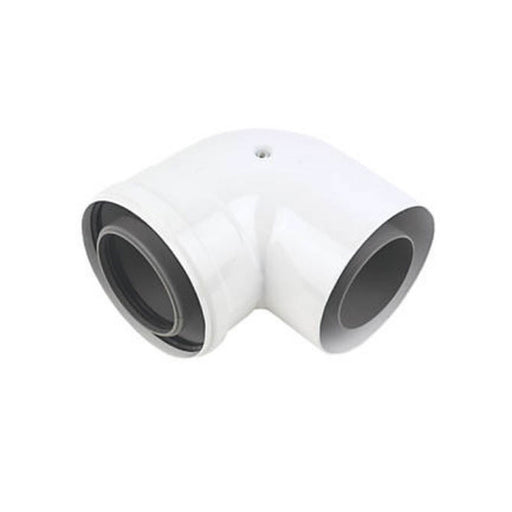 Baxi Ecoblue Flue Bend 91.5° Model 5118588 Diameter 80/125 mm - Image 1