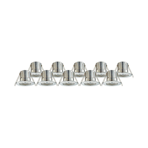 LAP LED Downlight Spotlight Ceiling Warm White CosmosEco 4W pack of 10 - Image 1