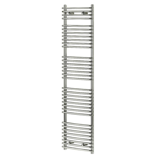 Blyss CAG27GA014 Chrome Curved Towel Radiator Warmer 1674 x 450mm 1814Btu 532 W - Image 1