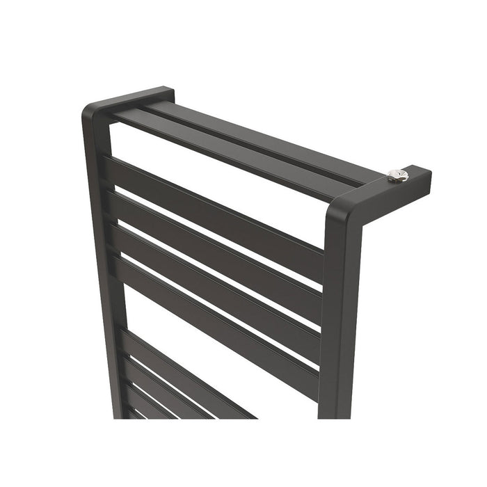 Loreto Vertical Matt-Anth. 1300x500 Towel Warmer - Image 3