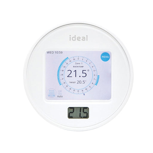Ideal Touch Heat and System RF Programmable Wireless Room Thermostat 212862 - Image 1