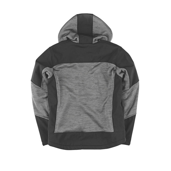 "Site Rowan Fleece-Lined Winter Hoodie Black / Grey XL 54"" Chest - Image 2"