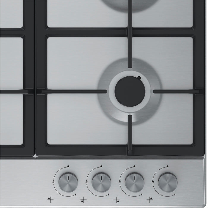 Beko Built-in Gas Hob 4 Burners Integrated HQAW64225 Stainless Steel 60cm - Image 2