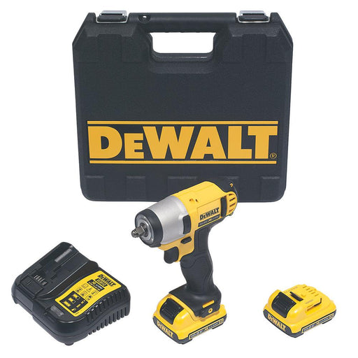 DeWalt Cordless Impact Wrench DCF813D2-GB 10.8V 2 x 2.0Ah Li-Ion XR With Charger - Image 1