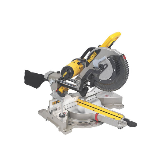 DeWalt Compound Mitre Saw DWS780-GB 305mm Double-Bevel Sliding  240V - Image 1