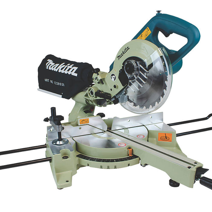 Makita LS0714N/2 190mm Electric Double-Bevel Sliding Compound Mitre Saw 240V - Image 2