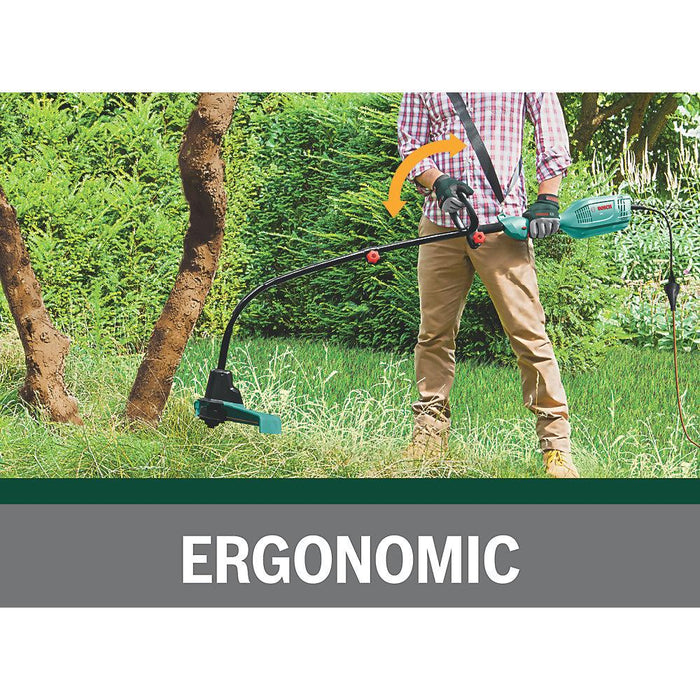 Bosch ART 35 600W 230V Curved Shaft Electric Grass Trimmer - Image 5