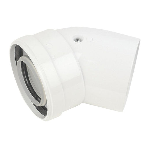 Baxi Flue Bend 135° 100mm 2 Pack - Image 1