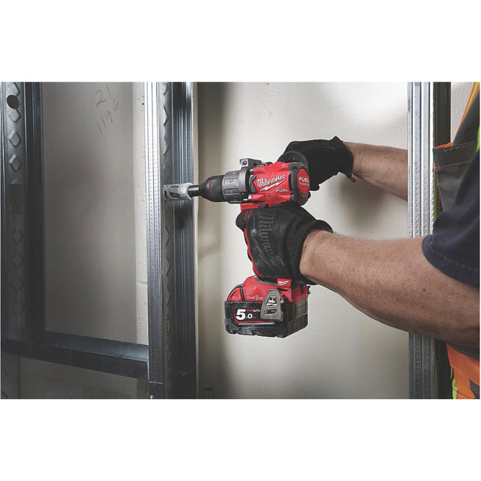 Milwaukee M18 ONEPD2-502X FUEL 18V 5.0Ah Brushless Cordless ONE-KEY Combi Drill - Image 6