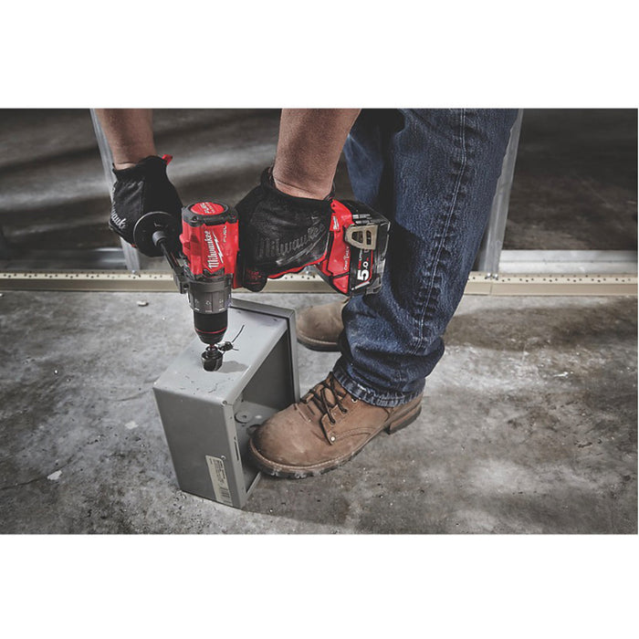 Milwaukee M18 ONEPD2-502X FUEL 18V 5.0Ah Brushless Cordless ONE-KEY Combi Drill - Image 7