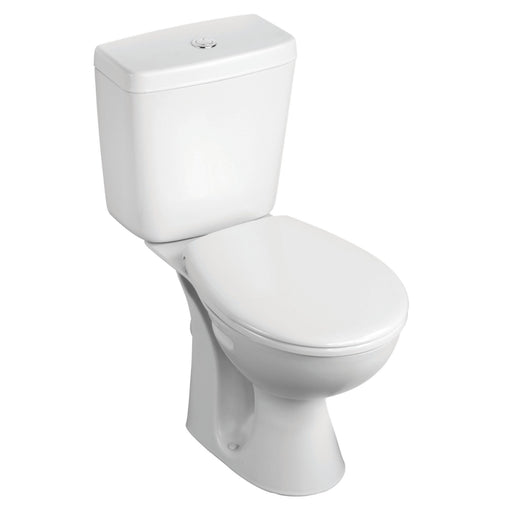 Armitage Shanks Sandringham 21 Close-Coupled Toilet Pack With Standard Close Seat - Image 1