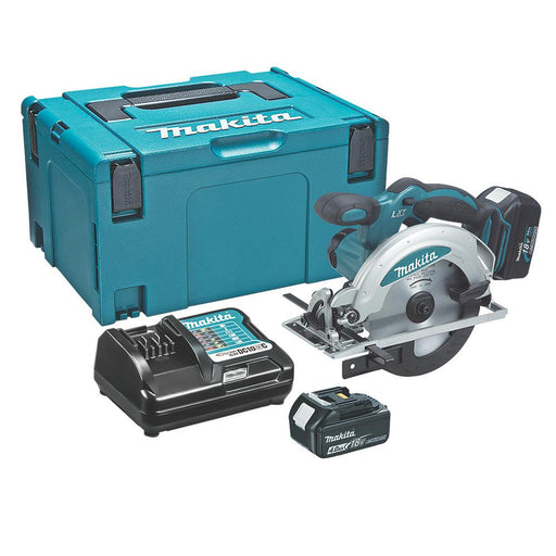 Makita DSS610RMJ 165mm 18V 4.0Ah Li-Ion Cordless Circular Saw - Image 1