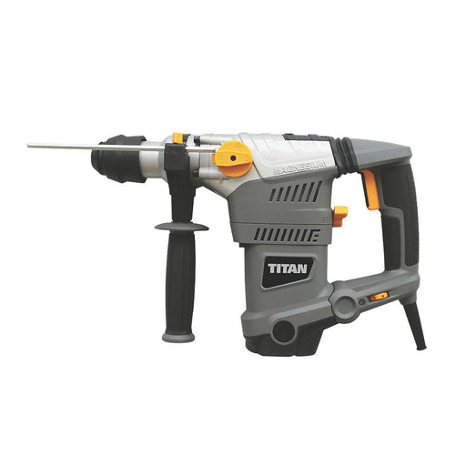 Titan SDS Plus Drill TTB653SDS 5.9kg Electric Brushed 3-Functions 230-240V - Image 1