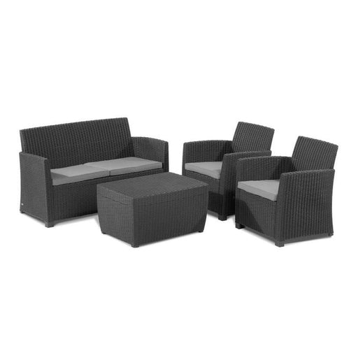 Allibert Corona 4 seater Sofa Garden set - Image 1