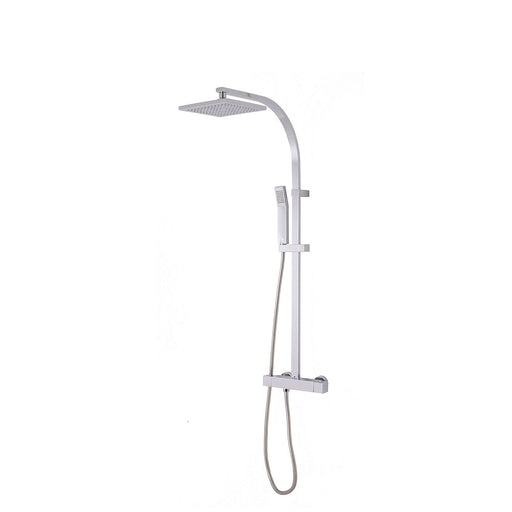 Cooke & Lewis Thermostatic Mixer Shower Equinox Rear-Fed Exposed Chrome - Image 1