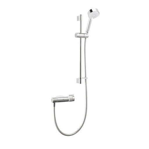 Mira Agile EV Rear-Fed Exposed Chrome Thermostatic Mixer Shower - Image 1