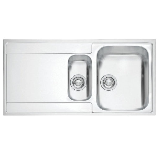 Franke Maris Slim Top Inset Sink Stainless Steel 1.5 Bowl 1000x510mm Left-Hand - Image 1
