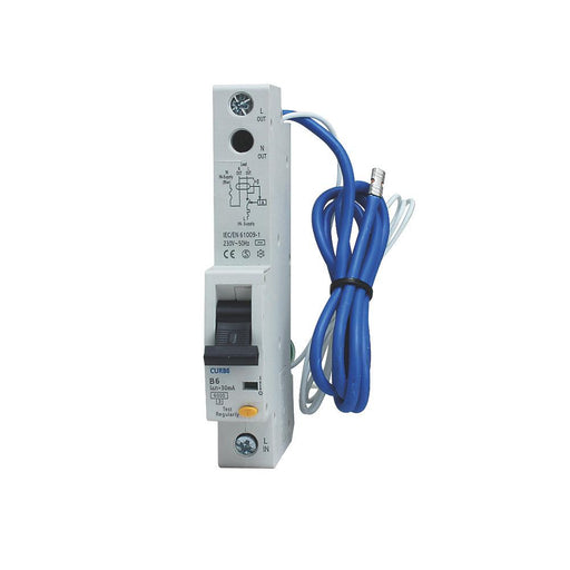 BG 6A Single Pole B Type RCBO - Image 1