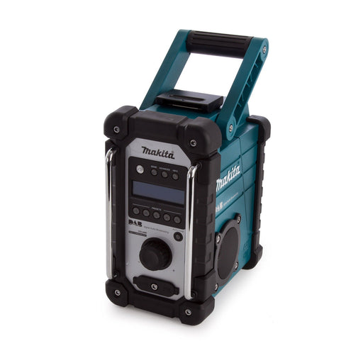 Makita DMR109 DAB/FM Electric Job Site Radio 240V Blue Li-lon Body-Only - Image 1