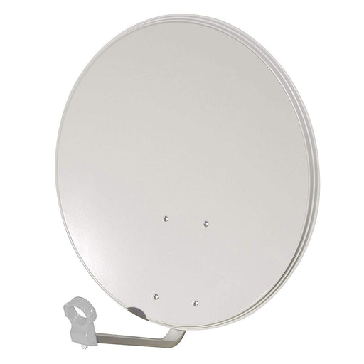 Philex Universal Solid 80cm Satellite Dish 28250R/S with Wall/Pole mounting - Image 1