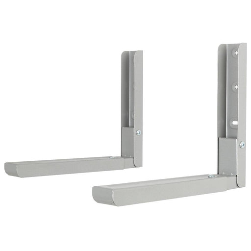 AVF Microwave Brackets Silver 2 Pack - Image 1