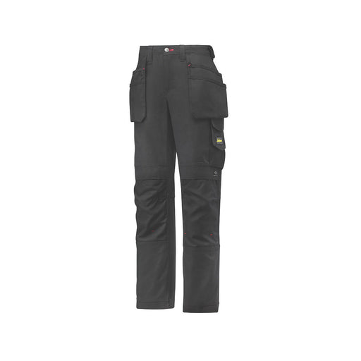 "Snickers 3714 Holster Ladies Trousers Black Size 10 29"" L - Image 1"