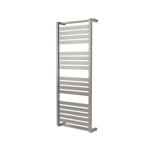 Goodhome Loreto Towel Warmer Vertical Grey Silver 1300 x 500mm - Image 1