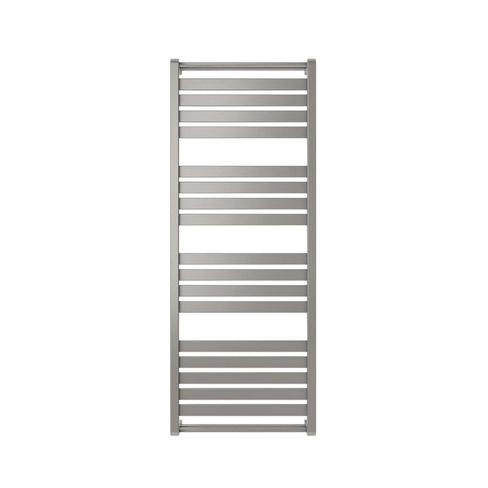 Goodhome Loreto Towel Warmer Vertical Grey Silver 1300 x 500mm - Image 2