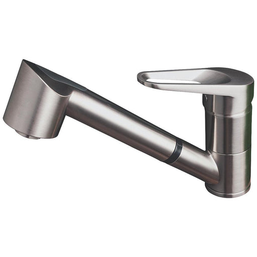 Cooke and Lewis 12A Pull-Out Spray Mono Mixer Kitchen Tap Chrome - Image 1