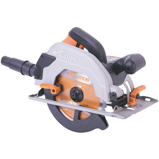 Evolution R185CCSL110 1200W 185mm Electric Circular Saw 110V MultiMaterial Blade - Image 1