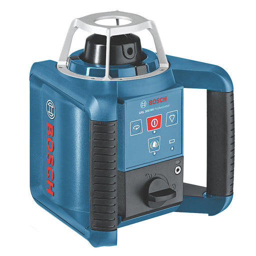 Bosch Red Self-Levelling Rotary Laser Level With Receiver GRL 300HV 300m Range - Image 1